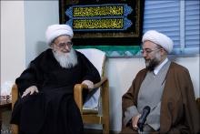 گزارش تصویری: دیدار ریاست سازمان پژوهش وزارت آموزش و پرورش با حضرت آیت الله العظمی صافی گلپایگانی