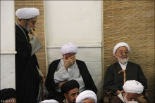 گزارش تصویری : عزاداری شهادت امام موسی کاظم (ع) با حضور حضرت آیت الله العظمی صافی گلپایگانی