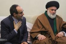 سفیر ایران در کشور گینه کوناکری در دیدار با حضرت آیت الله العظمی صافی گلپایگانی