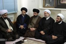 دیدار رئیس و معاونان سازمان اوقاف و امور خیریه کشور با حضرت آیت الله العظمی صافی گلپایگانی