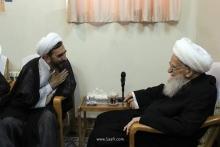 گزارش تصویری:دیدار رئیس کل دادگستری و دادستان قم با حضرت آیتالله العظمی صافی گلپایگانی