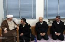 گزارش تصویری/ دیدار فرماندهی نیروری انتظامی کشور با حضرت آیت الله العظمی صافی گلپایگانی
