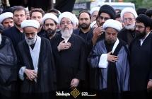 برگزاری دسته با شکوه عزاداری علوی در مشهد مقدس
